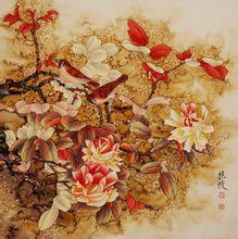 张桂枝工笔画欣赏